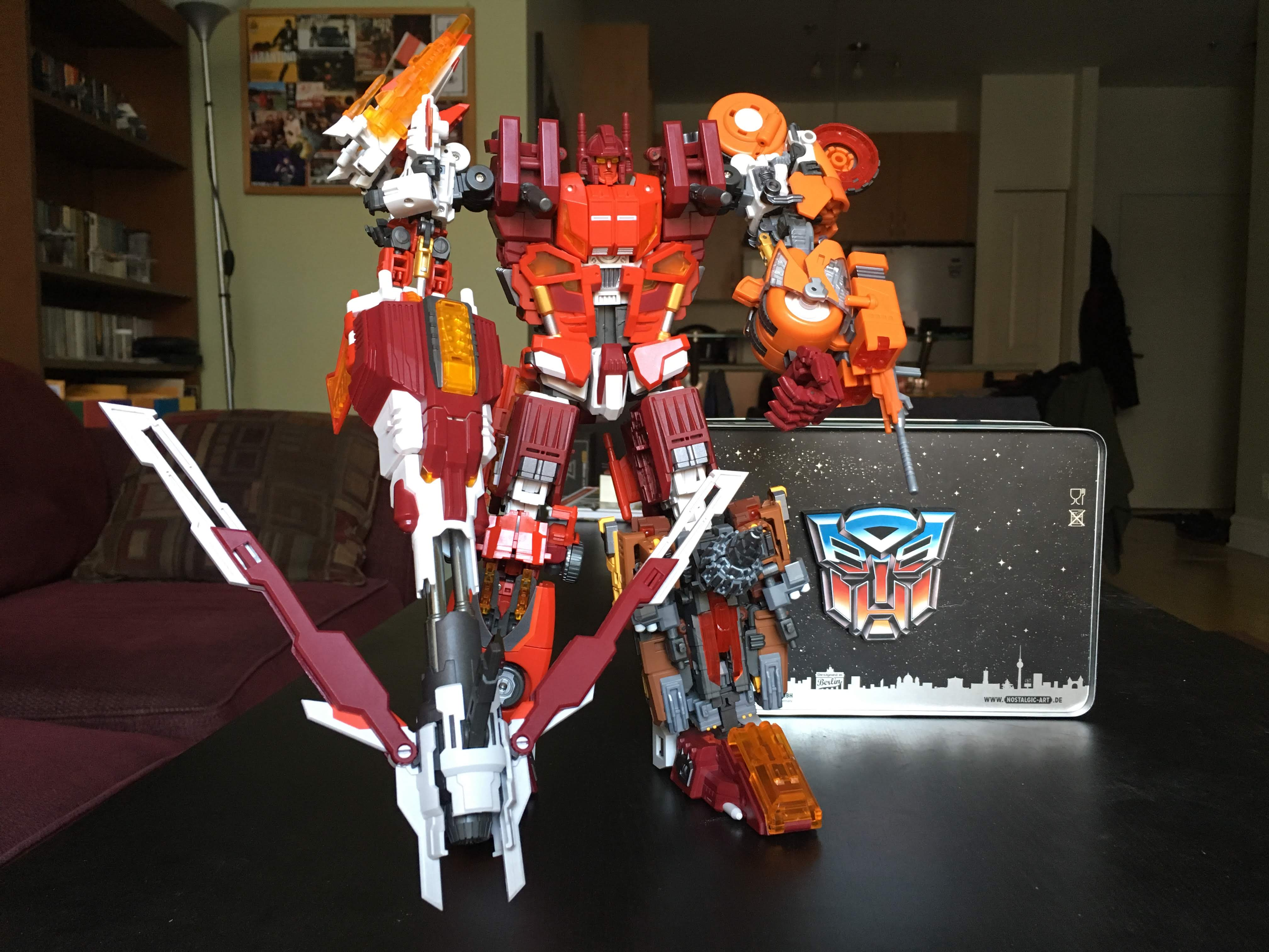 Transformers Combiner Technobots Scattershot Shoulder Gun Weapon Part Piece